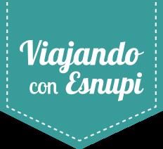 Logo Viajando con Esnupi