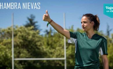 """Alhambra Nievas, nombre de fortaleza para la """"jefa del rugby"""""""