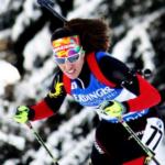 Victoria Padial, guerrera en la nieve